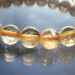 天然石 シトリン 7.5mm ブレスレット cit07.5002