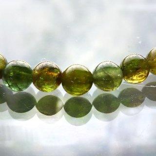 天然石 高品質グリーントルマリン 5mm ブレスレット tou05002g