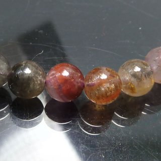 天然石 オーラライト23 5.5mm ブレスレット aur2305.5012