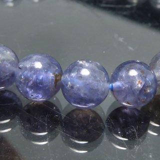 天然石 アイオライト 7mm ブレスレット io07008l