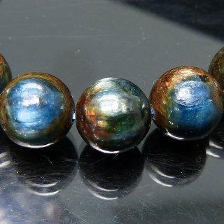 天然石 マルチカラーカイヤナイト 9mm ブレスレット kya09003m