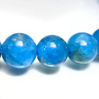 天然石 パステルブルーアパタイト 7-7.5mm ブレスレット apa07.5005pb