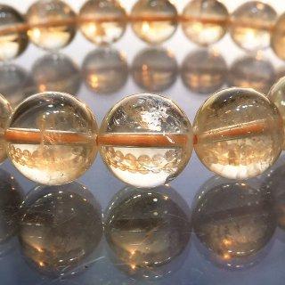 天然石 シトリン 11mm ブレスレット cit11001