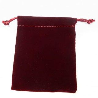 スエード調巾着 ワインレッド bag_0_0_red
