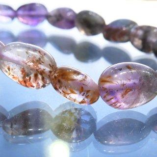 天然石 オーラライト23 7-11.5mm ブレスレット aur2307001t