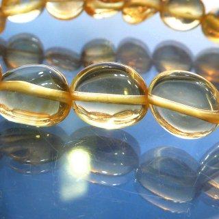 天然石 シトリン 8.5-11mm ブレスレット cit11002