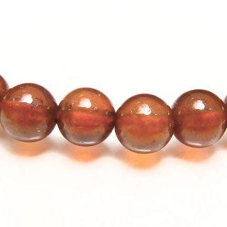天然石 オレンジガーネット 5mm ブレスレット gar05001h