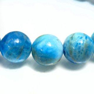 天然石 ブルーアパタイト 8mm ブレスレット apa08002