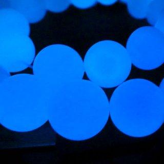 【1粒売り】ルミナスストーン ブルー 10mm lum_ro_10_b