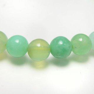 天然石 クリソプレーズ 5mm ブレスレット chr05002