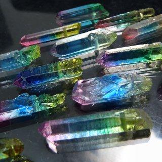 【1粒売り】水晶原石 ポイント レインボー M cry_pt_M_ra