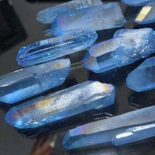 【1粒売り】水晶原石 ポイント オーロラブルー� L cry_pt_L_ob2