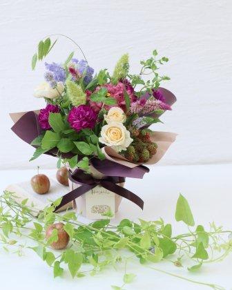 【敬老の日】立つ花束M