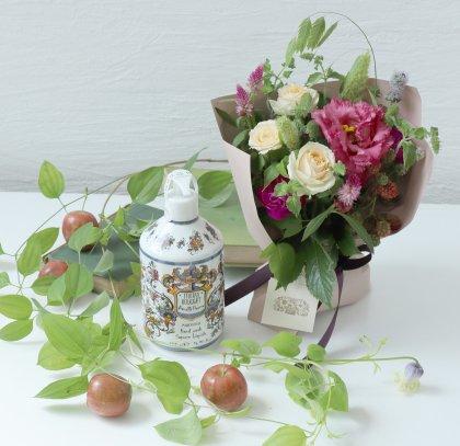 【敬老の日】イタリアンハンドソープ(ピオニー)& 立つ花束S