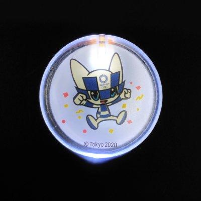 LEDバッジ(東京2020オリンピックマスコット)