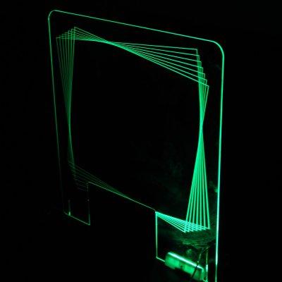 LEDパーテーション(菱形)