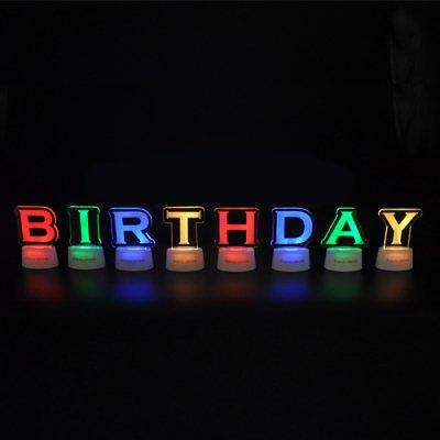 アルファベットスタンドセット「BIRTHDAY」
