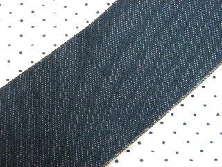 【畳へり端切れ】デニム 7.3m <珍しいデニムの畳へり/人気シリーズ>手芸・バッグ・小物作りに 【一点限り】