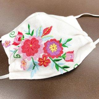 刺繍入りマスクA-1003