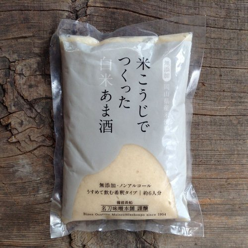 名刀味噌本舗 / 白米あま酒(甘酒) 400g