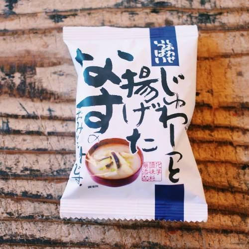 コスモス食品 / じゅわ〜っと揚げたなすのおみそ汁 11.3g(1食分)