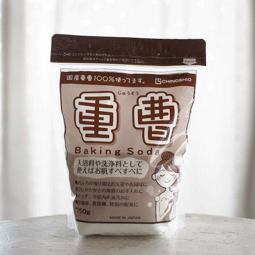 地の塩社 / 重曹(入浴料・洗浄料) 750g