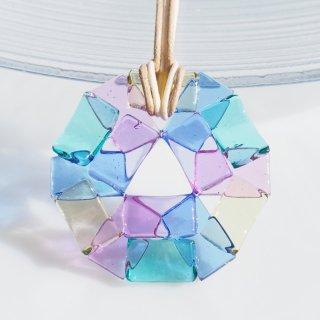 ガラスの万華鏡『カレイドスコープ』ネックレス【受注制作】