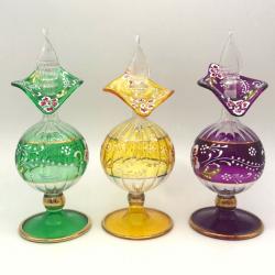 【キャンペーン】ガラスの香油瓶  アロマボールプレゼント中 (約17cm)