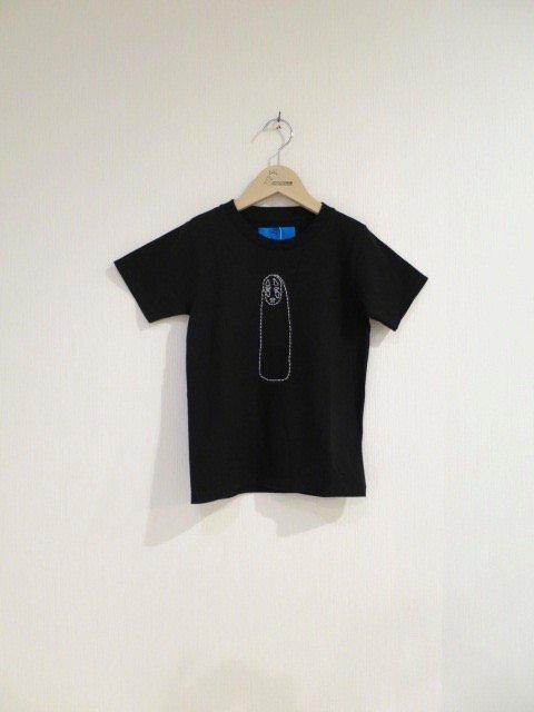 バックステッチTシャツ (カオナシ・小人)