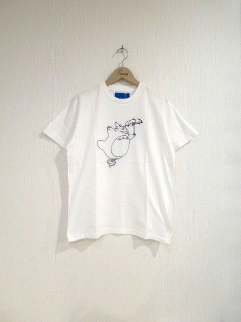 バックステッチTシャツ (トトロ・大人)