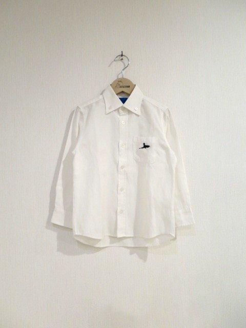 キキ手刺繍シャツ (1点もの)