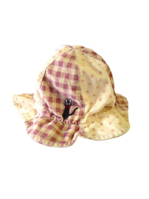 ジジ手刺繍ハット (1点もの/サイズ小人)