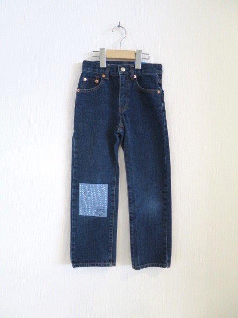 トトロ手刺繍パンツ (1点もの/サイズ140)