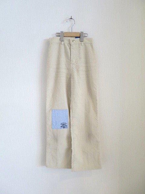 トトロ手刺繍パンツ (1点もの)