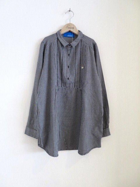 トトロ手刺繍シャツ (1点もの)