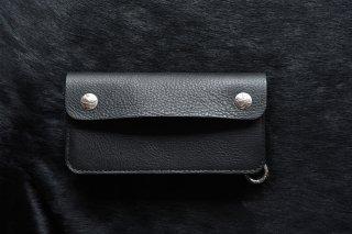 DEVELOP BIKER WALLET MINERVA BOX (BLACK)