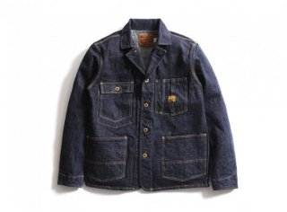2604 DIRT DENIM COVERALL