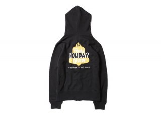 "<img class='new_mark_img1' src='https://img.shop-pro.jp/img/new/icons1.gif' style='border:none;display:inline;margin:0px;padding:0px;width:auto;' />""HOLIDAY"" HOLIDAY LOGO ZIP HOODIE(KIDS SIZE)(子供服)"