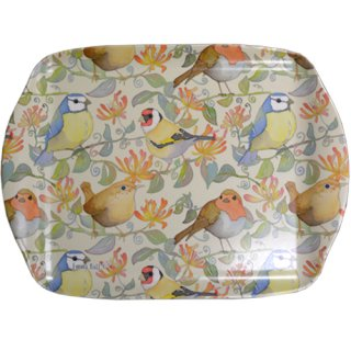 <br>Emma Ball 【EBMMD60】<br>Medium Tray トレイ<br>Birds & Honeysuckle