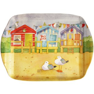 <br>Emma Ball 【EBMMD58】<br>Medium Tray トレイ<br>A Day at the Seaside