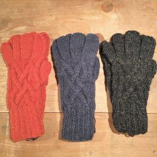手編みの手袋 (o)
