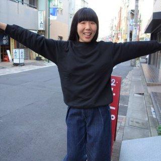 yohaku 吊りあみ裏毛トレーナー
