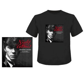HIDEKI SAIJO with ANTHEM feat. Graham Bonnet 『ナイト・ゲーム2020』 【数量限定 Tシャツ+CD(TYPE B)】