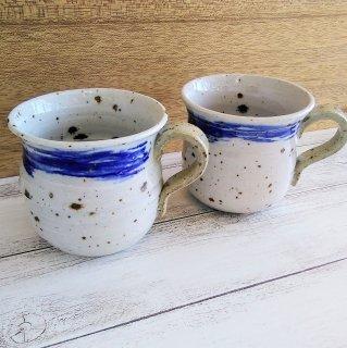 手造りマグカップ