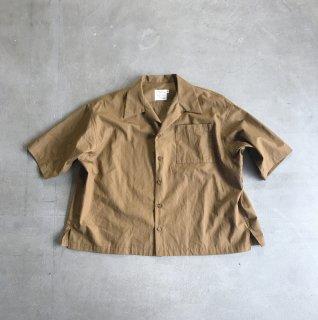 【即納】オープンネックシャツ/F(160)