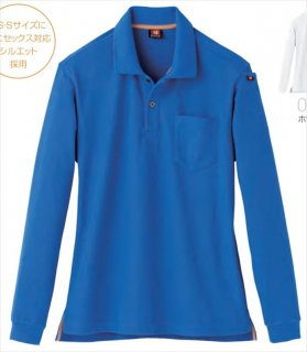505長袖ポロシャツ