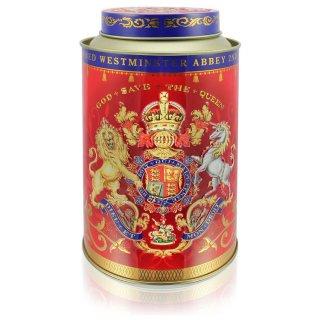エリザベス女王II 戴冠60周年記念デザイン ロイヤルブレンドティー缶
