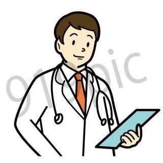 医者 イラスト(医師、病院、医者)