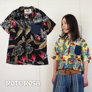 ROTE ROSA(ローテローザ) レーヨンアロハシャツ