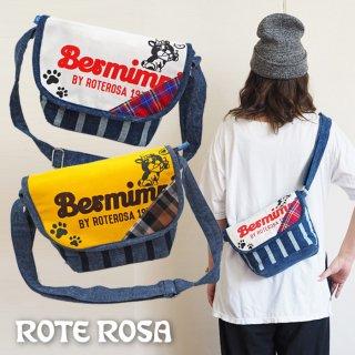 ROTE ROSA(ローテローザ)フレンチブルドッグロゴショルダーBAG